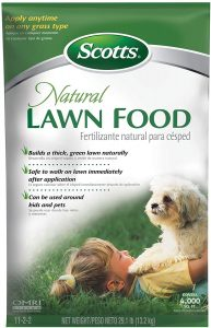 Scotts Natural Lawn Food